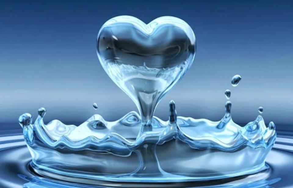 cuore acqua