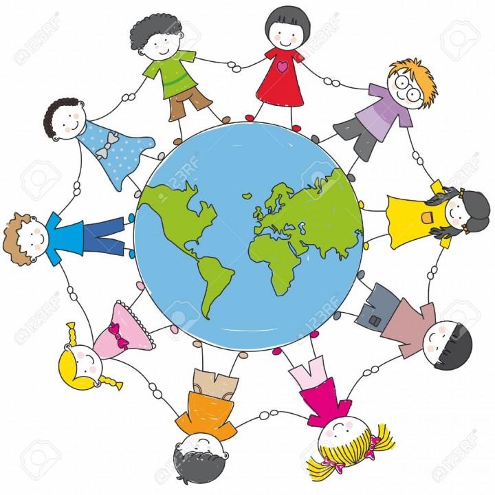 10846471-bambini-di-tutto-il-mondo-unito-Archivio-Fotografico